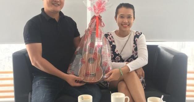 Trao quà tặng tháng 01-2018 cho bạn Nguyễn Lý Trân